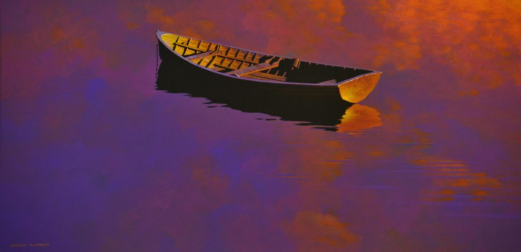 Dinghy in the Early Morning