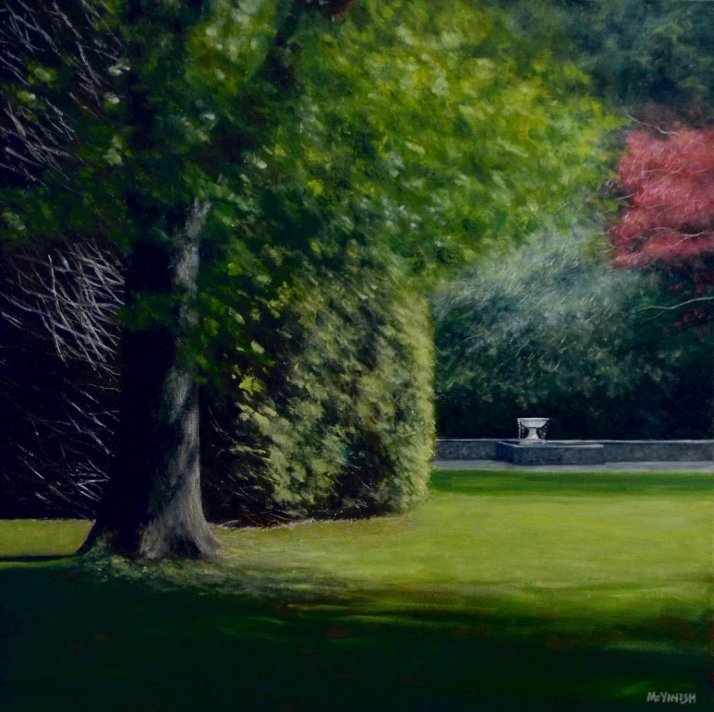Forest Glade by Christopher McVinish at Gallery One