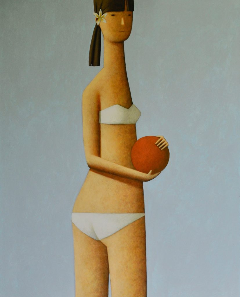 Girl with Red Ball