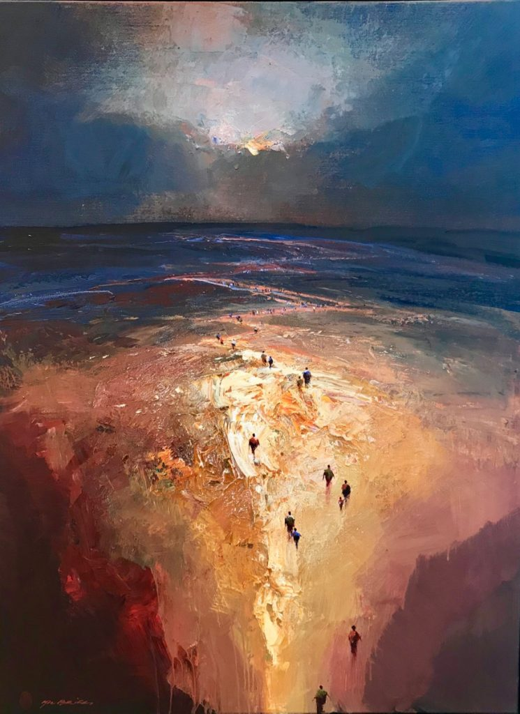 Evening Passage by Mel Brigg at Gallery One