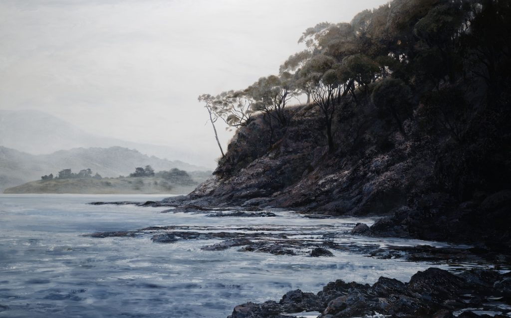 Late afternoon – Satellite Island