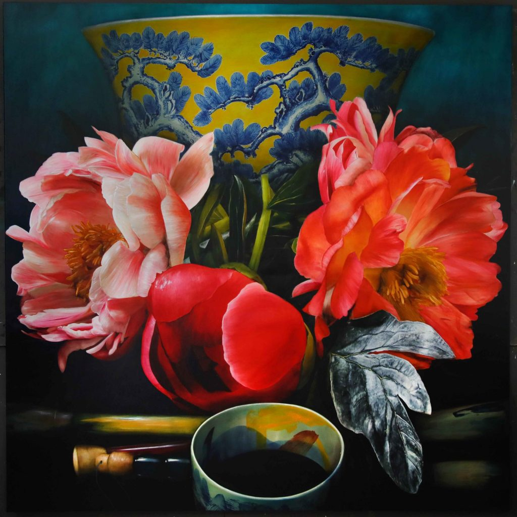 Poems from the peony garden