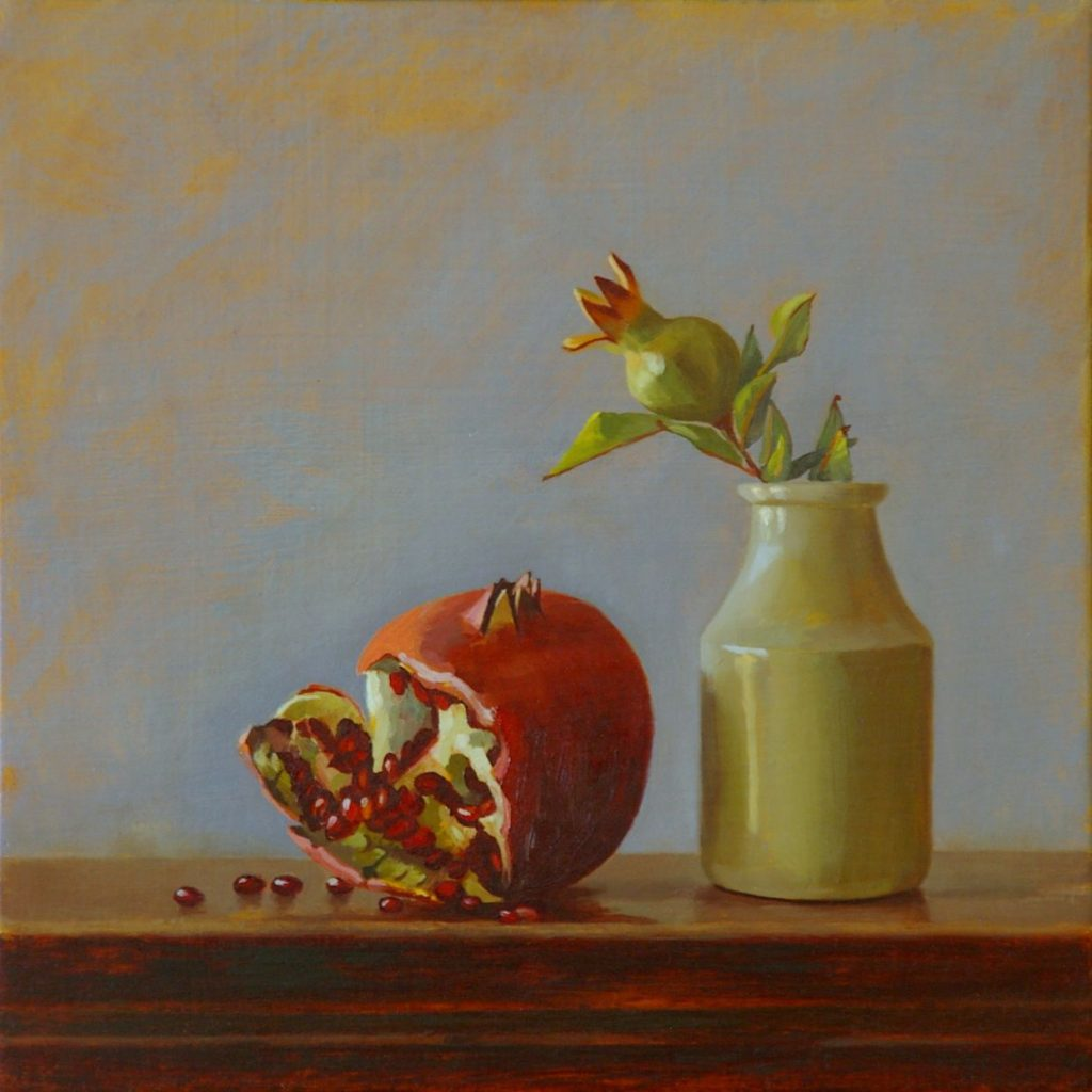Pomegranate and Table