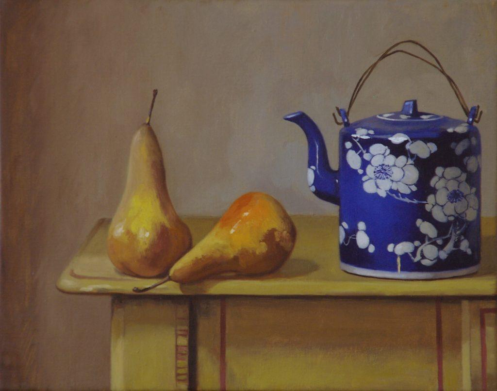 Teapot & Pears