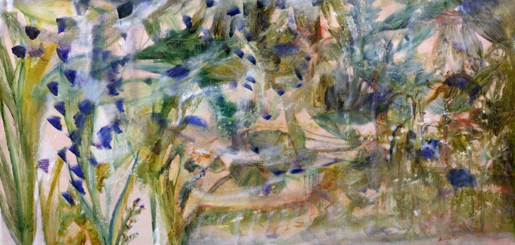 The Inner Garden (Irises)