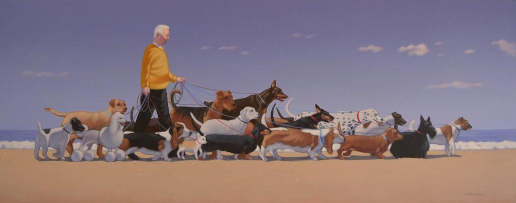 Gold Coast professional dog walker