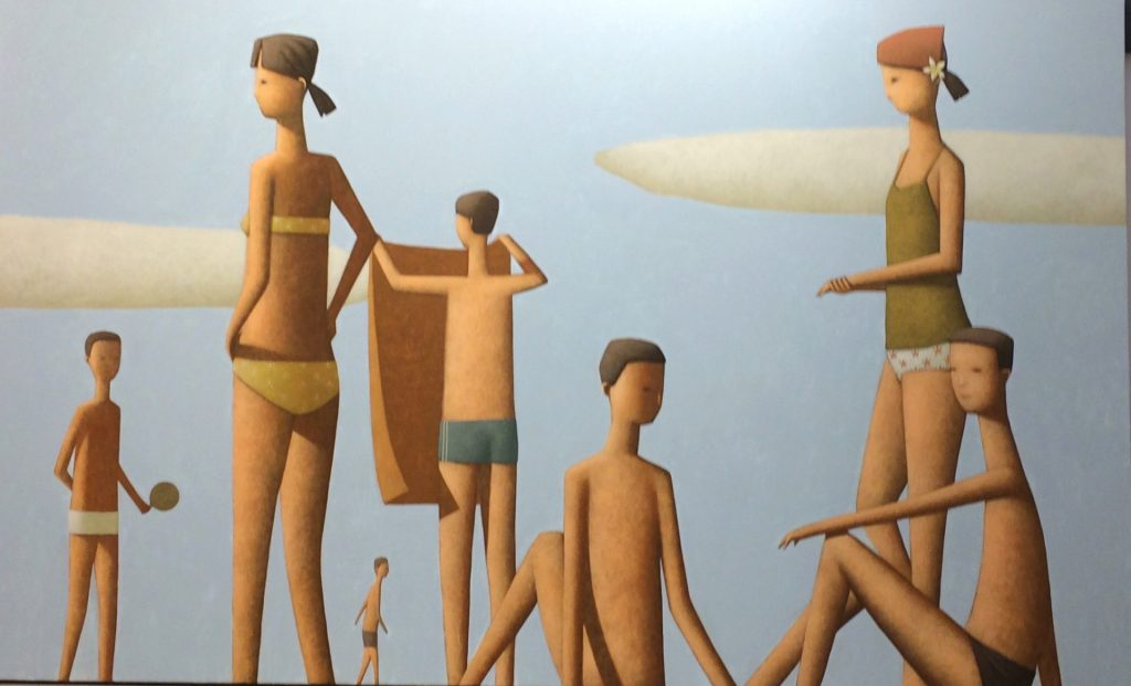 Saturday Morning Beach Painting
