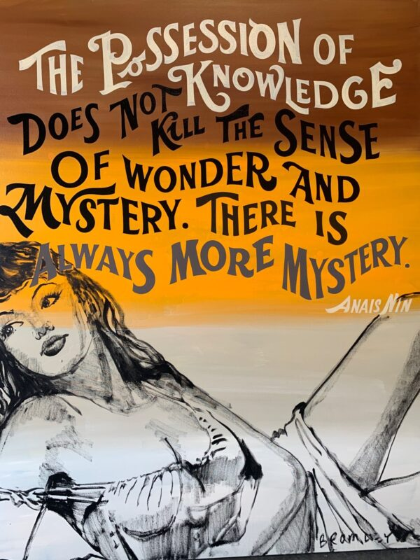 The possession of knowledge